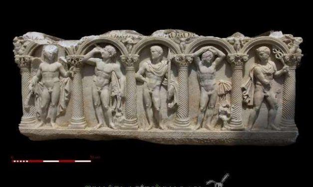 Descubren el ágora de Trípolis en Turquía