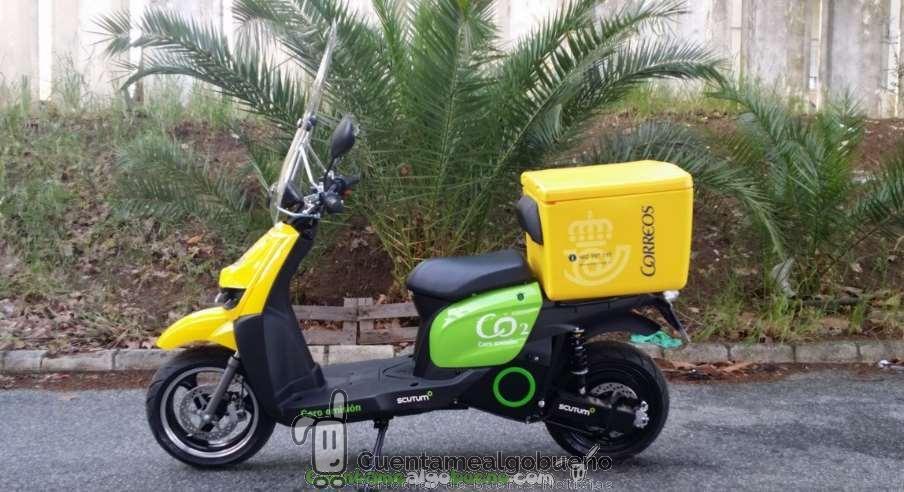 Vehículos eléctricos para repartir el correo