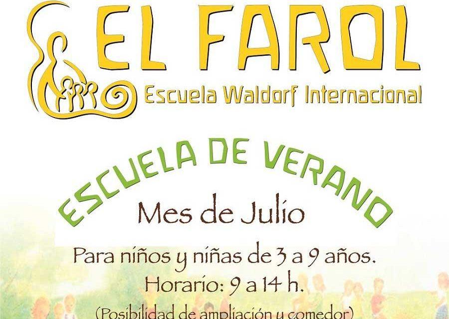 Escuela de Verano para niños en El Farol Waldorf Málaga