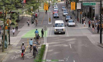 El tráfico en Nueva York es ahora más fluido gracias a los carriles bici protegidos