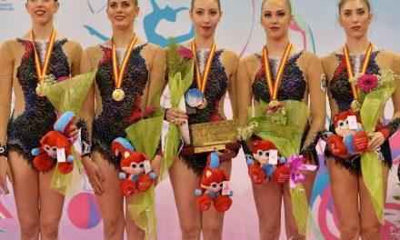 El equipo español de rítmica conquista el oro mundial