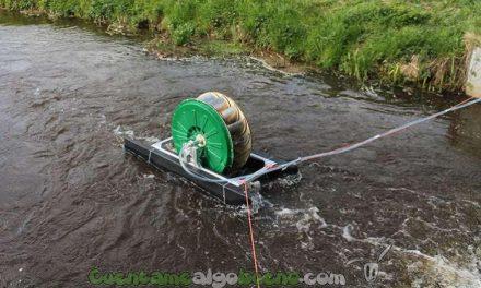 Bomba de agua que funciona sin combustible