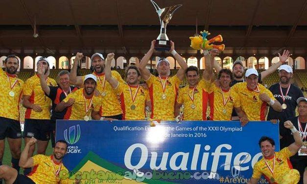 El equipo español de rugby 7 jugará en los JJOO de Río