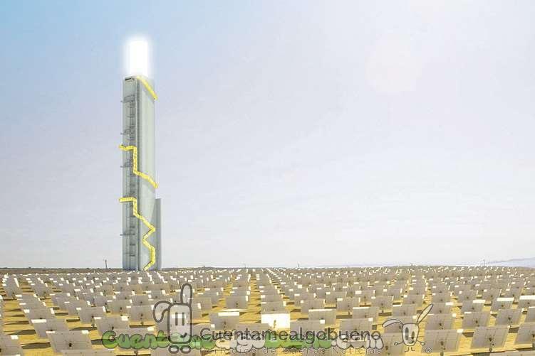 Isarael construye el concentrador solar más grande del mundo