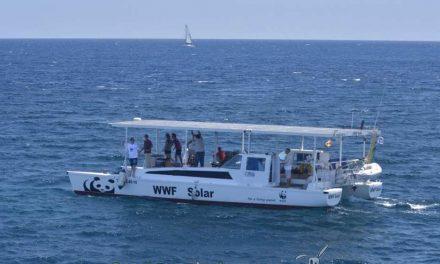 Protegiendo los fondos marinos a bordo del WWF Solar
