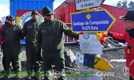 Primer Camino de Santiago Antártico