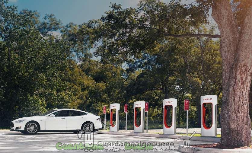 Nuevo récord de ventas de coches eléctricos en Estados Unidos