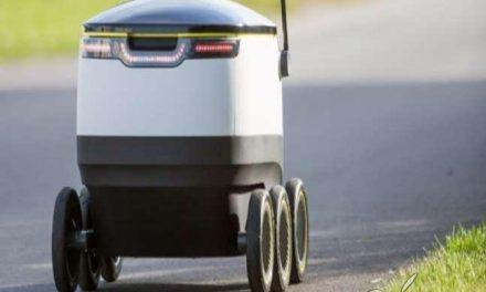 Crean un robot autónomo que reparte comida a domicilio