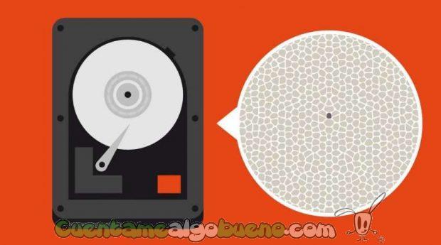 Los científicos llegaron a una densidad de almacenamiento de 500 terabits por pulgada cuadrada (Tbpsi), 500 veces mayor que la del mejor disco duro comercial disponible actualmente.