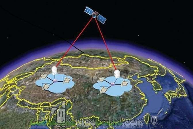 China pone en órbita el primer satélite de telecomunicación cuántica del mundo