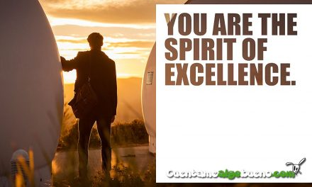 You are the spirit of excellence