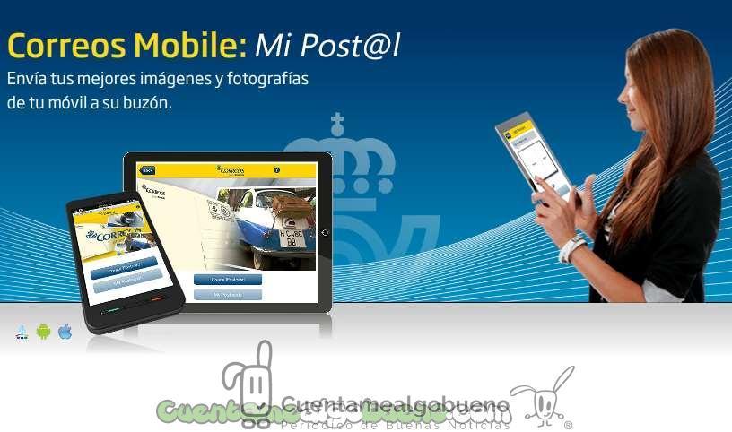 Convierte las fotos de tu móvil en postales con Mi Post@l de Correos