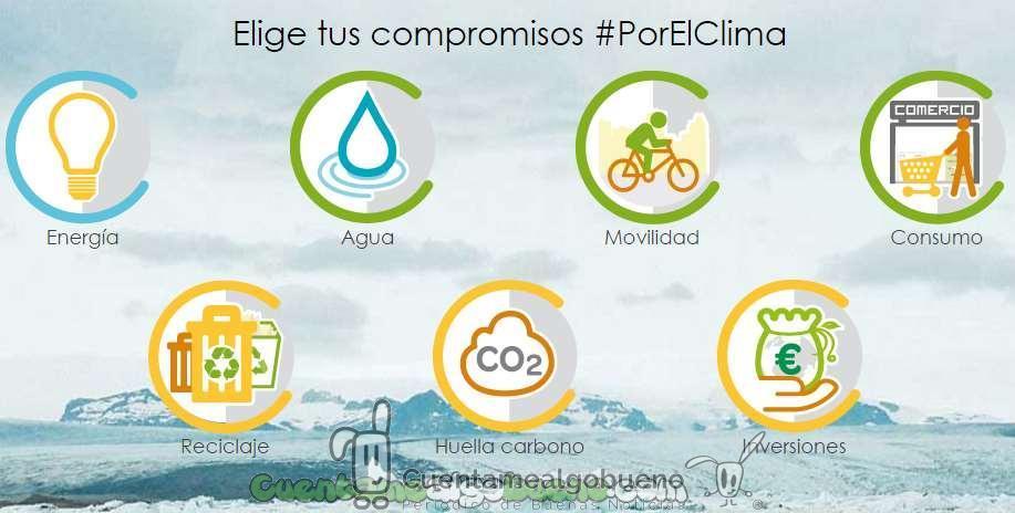 Un millón de compromisos #PorElClima