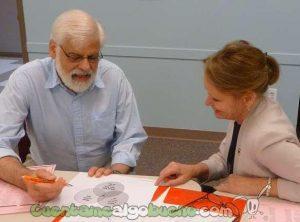 Una sesión de coaching. Fotografía de Deb Nystrom.