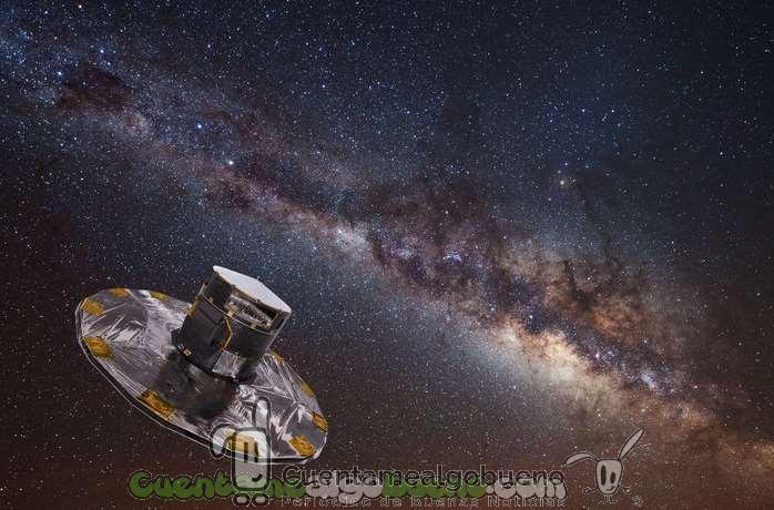 Mapa con más de mil millones de estrellas de la Vía Láctea