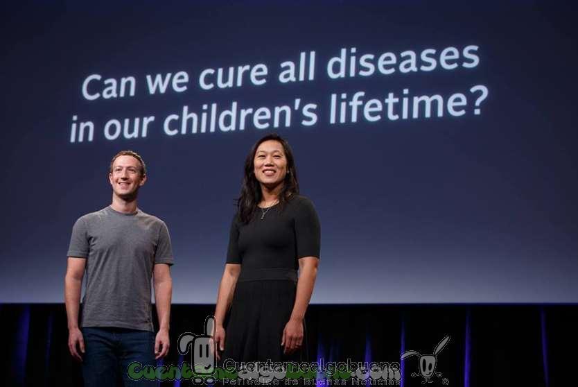 El fundador de Facebook y su mujer donarán 3.000 millones de dólares para curar todas las enfermedades