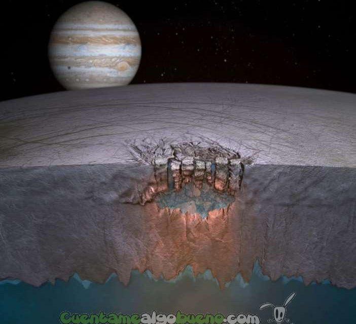 NASA confirma la existencia de géiseres de agua en la luna de Júpiter