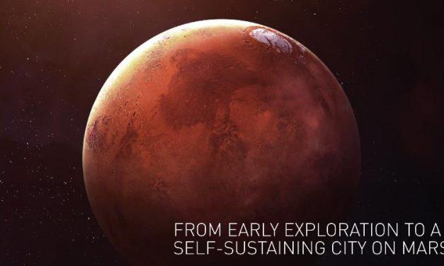 SpaceX presenta la nave con la que el ser humano llegará a Marte