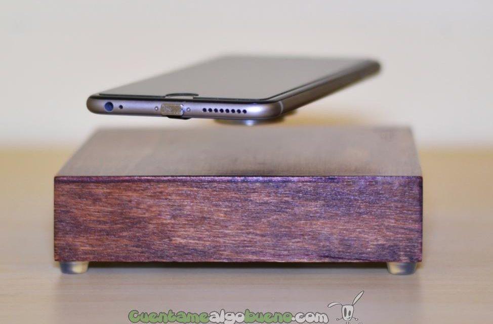 Crea un cargador que hace levitar el móvil