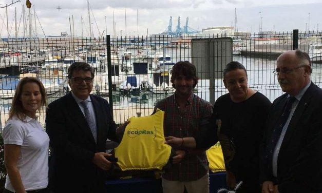 Clubes y escuelas náuticas reciclaron 1100 kilos de pilas el pasado verano