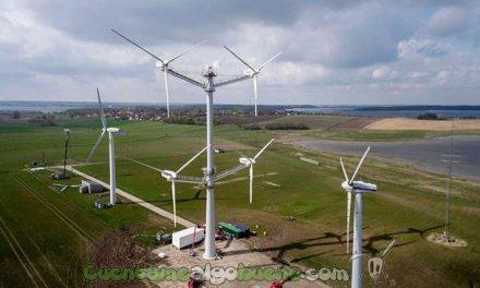 ¡Energía eólica a lo grande!