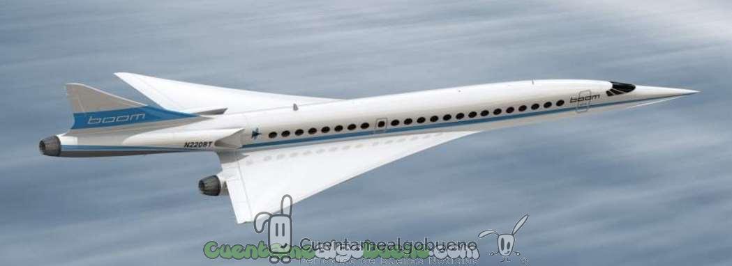 Avión supersónico…de Londres a NY en tres horas