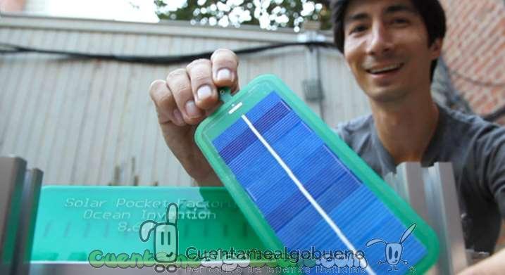 Paneles solares de bolsillo