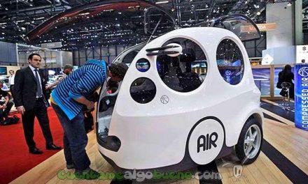 AirPod, el coche de aire comprimido