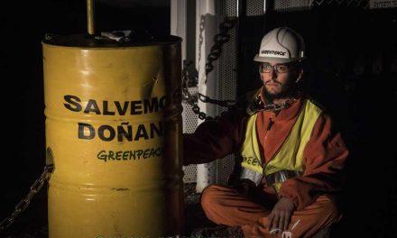 ¿Por qué Greenpeace ha paralizado las obras de Gas Natural Fenosa en Doñana?