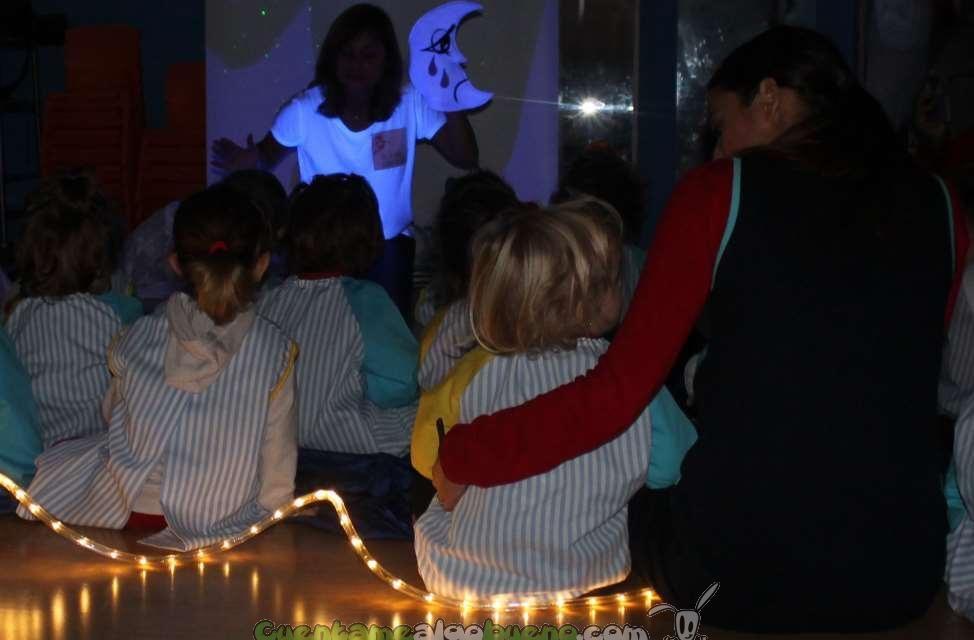 Cuentacuentos con Mesas de Luz en Málaga