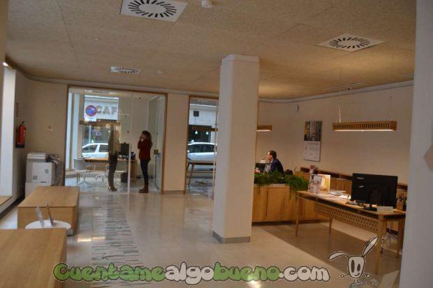 La oficina de Triodos Bank en Málaga es la última abierta por la entidad en España y cuenta con las últimas novedades en materia de construcción y arquitectura sostenible y respetuosa con el medio ambiente.