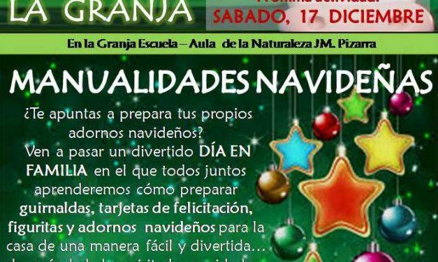 Manualidades Navideñas en la Granja Escuela de Pizarra (Málaga)