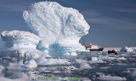 Expedición científica hacia la Antártida