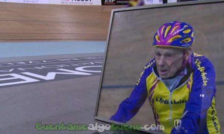 Un ciclista de 105 años bate récord mundial de velocidad en pista