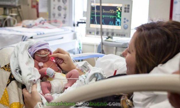 Da a luz a su hija terminal para poder donar después sus órganos