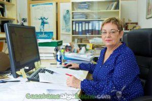La investigadora Isabel Abril. Foto: UAL.