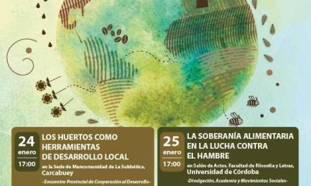 Jornadas sobre Soberanía Alimentaria en Córdoba