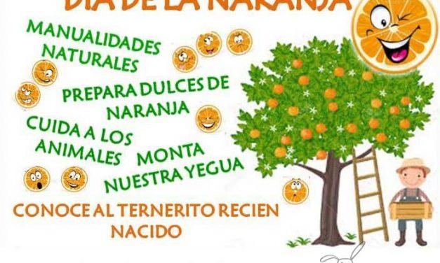 Día de la Naranja en la Granja Escuela Aula de la Naturaleza de Cerralba (Málaga)