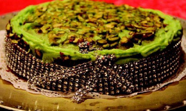 Receta Solidaria – Bizcocho de pistacho