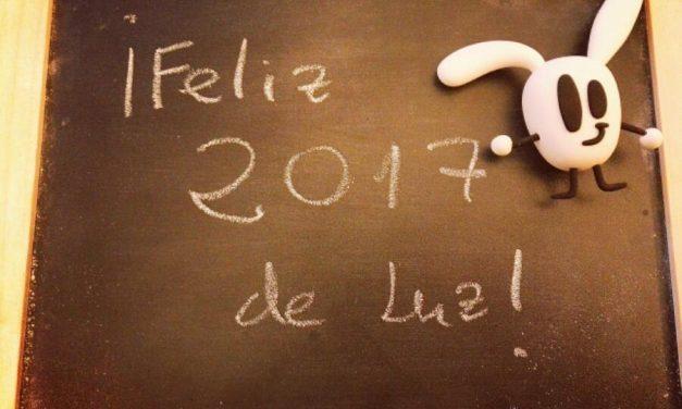 ¡Feliz 2017 de Luz!