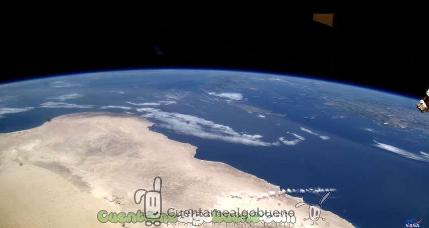 Vídeo en 4K de La Tierra vista desde la Estación Espacial Internacional