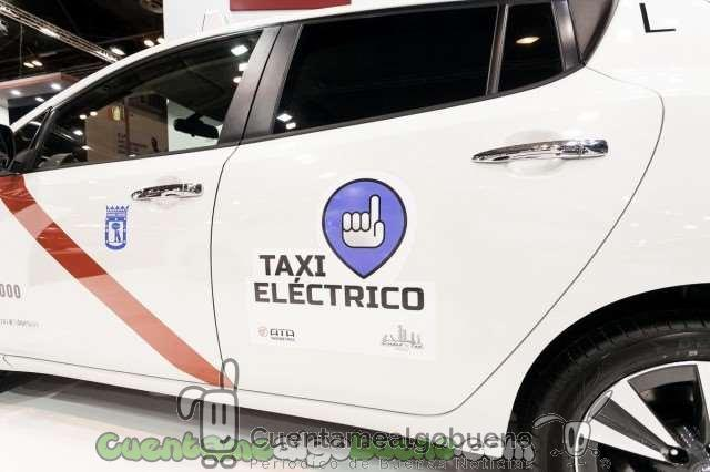 Madrid, capital de taxis eléctricos