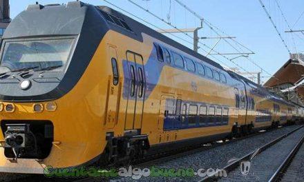 Trenes propulsados con energía eólica