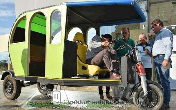 Crean un vehículo eléctrico de bajo coste para Perú