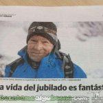 El alpinista de 78 años que se ha propuesto escalar las catorce montañas más altas de la Tierra