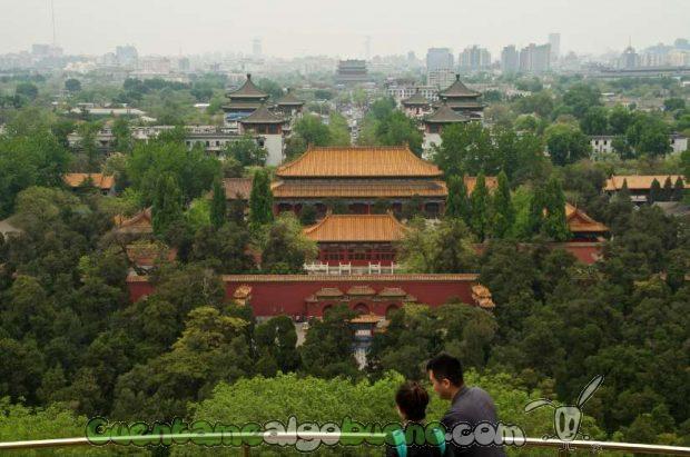 Vista de Beijing. Fotografía de Carlos Rivera.