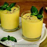 Receta Solidaria – Batido de Yogur con Mango