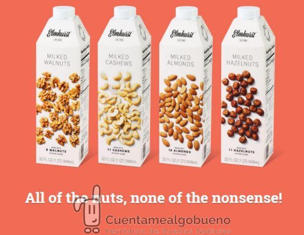 Nueva gama de leches vegetales del que fuera un productor lácteo tradicional durante años.