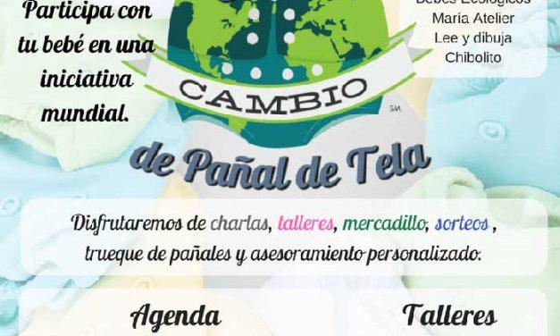 Evento (Málaga): El gran cambio de pañal de tela