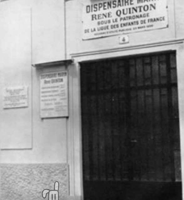 Inauguración en Coín del Primer Dispensario Marino de España